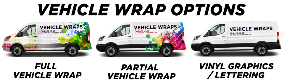 Avon Vehicle Wraps vehicle wrap options