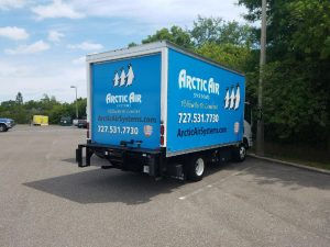 Arctic Air Box Trailer Wrap