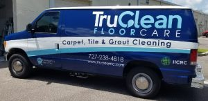 Indianapolis Vinyl Printing Vehicle Wrap Tru Clean 300x146
