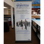 Indianapolis Trade Show Displays banner vinyl tradeshow retractable indoor 150x150