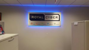 Indianapolis Lighted Signs Royal Cyber Indoor Lobby Sign Backlit 300x169
