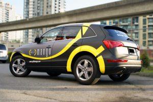 Indianapolis Car Wraps Mango vehicle car Wrap 300x200