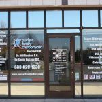 New Palestine Window Graphics Copy of Chiropractic Office Window Decals 150x150